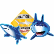 Shark Splash Cutout Assortments 36 ct