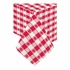 "Red Gingham Cellutex 54"" x 108"" Paper Tablecloths are sold in quantities of 1 / pkg, 25 pkgs / case"