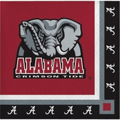 University of Alabama Beverage Napkins 240 ct