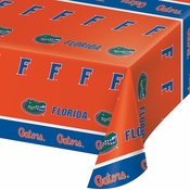 University of Florida Plastic Tablecloths 12 ct