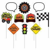 Monster Truck Photo Booth Props 60 ct