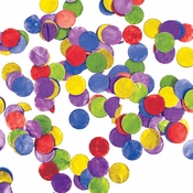 Multicolor Tissue Confetti 12 ct