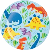Friendly Dinosaur Dessert Plates 96 ct