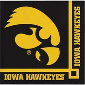University of Iowa Beverage Napkins 240 ct