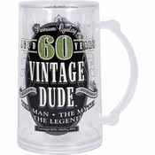 Vintage Dude 60th Birthday Tankards 4 ct