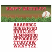Baseball Giant Party Banners 6 ct