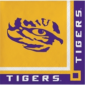 Louisiana State University Beverage Napkins 240 ct
