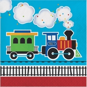 All Aboard Train Luncheon Napkins 192 ct