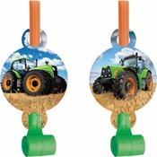Tractor Time Party Blowers 48 ct