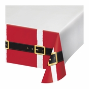 Santa Fun Plastic Tablecloths 12 ct