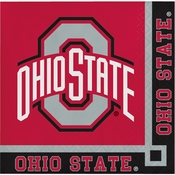 Ohio State University Beverage Napkins 240 ct