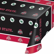 Ohio State University Plastic Tablecloths 12 ct