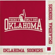 University of Oklahoma Beverage Napkins 240 ct
