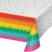 Fiesta Fun Plastic Tablecloths 6 ct