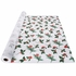 White, green and red Winterberries Linen-Like Table Roll sold in quantities of 1 per pkg / 1 pkg per case