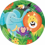 Jungle Safari Dinner Plates 96 ct