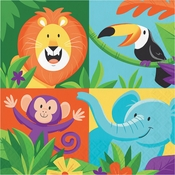 Jungle Safari Luncheon Napkins 192 ct
