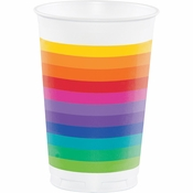 Rainbow Favor Cups 96 ct