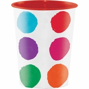 Art Party Keepsake Cups 12 ct