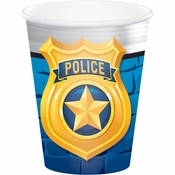 Police Party Cups 96 ct