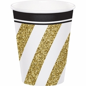Black and Gold Cups 96 ct