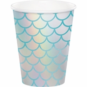 Iridescent Mermaid Cups 96 ct