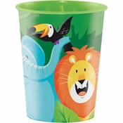 Jungle Safari 16 oz Plastic Cups 12 ct