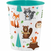 Wild One Woodland 16 oz Plastic Cups 12 ct