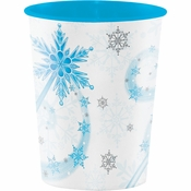 Snow Princess 16 oz Plastic Cups 12 ct