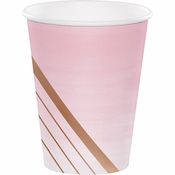 Rose All Day 12 oz Paper Cups 96 ct