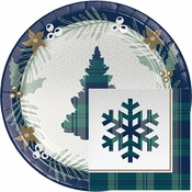 Holiday Tartan Party Supplies