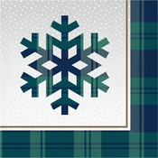 Holiday Tartan Luncheon Napkins 192 ct