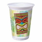 Tiki Time 16 oz Plastic Cups 96 ct