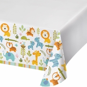 Happi Jungle Plastic Tablecloths 6 ct