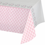 Little Peanut Girl Plastic Tablecloths 6 ct
