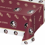 Florida State University Plastic Tablecloths 12 ct