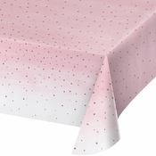 Rose All Day Plastic Tablecloths 6 ct