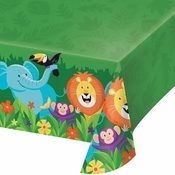 Jungle Safari Plastic Tablecloths 6 ct