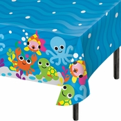 Ocean by French Bull Plastic Tablecloths 12 ct