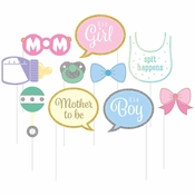 Baby Shower Photo Booth Props 60 ct