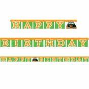 Tractor Time Party Banners 12 ct