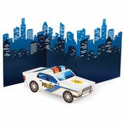 Police Party Centerpieces 6 ct