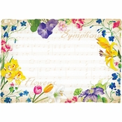 Symphony Flowers Placemats 1,000 ct