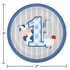 Farmhouse 1st Birthday Boy Dessert Plates 96 ct