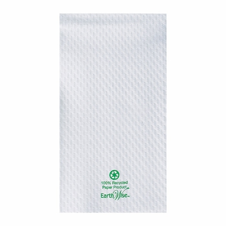 Earth Wise White 3,000 ct Guest Towel sold in 16 pkgs of 188