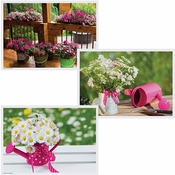 Pink Garden Multipack Placemats 1,000 ct