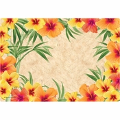 Hibiscus Placemats 1,000 ct