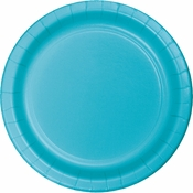 Bermuda Blue Dinner Plates 96 ct