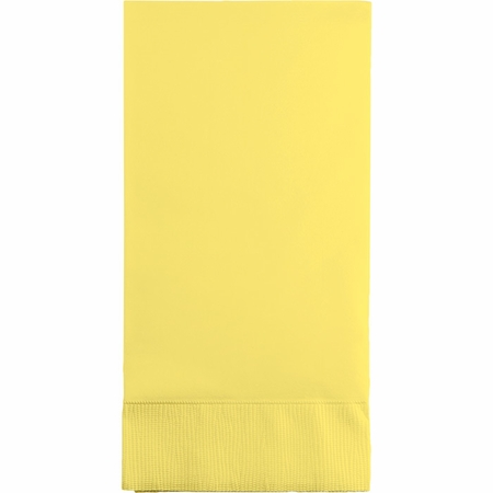 Touch of Color Mimosa 3 Ply Guest Towels in quantities of 16 / pkg, 12 pkgs / case