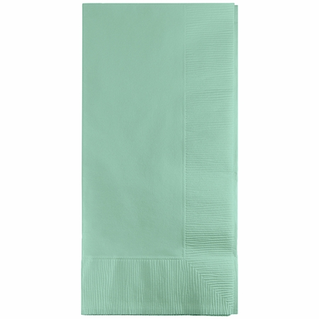 Fresh Mint Green 3 Ply Guest Towels 192 ct